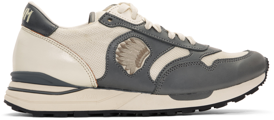 Visvim Sneakers Grey Roland Jogger Sneakers