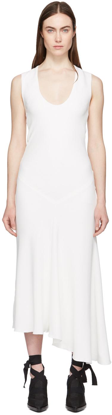 Haider Ackermann Dresses White Sleeveless Dress