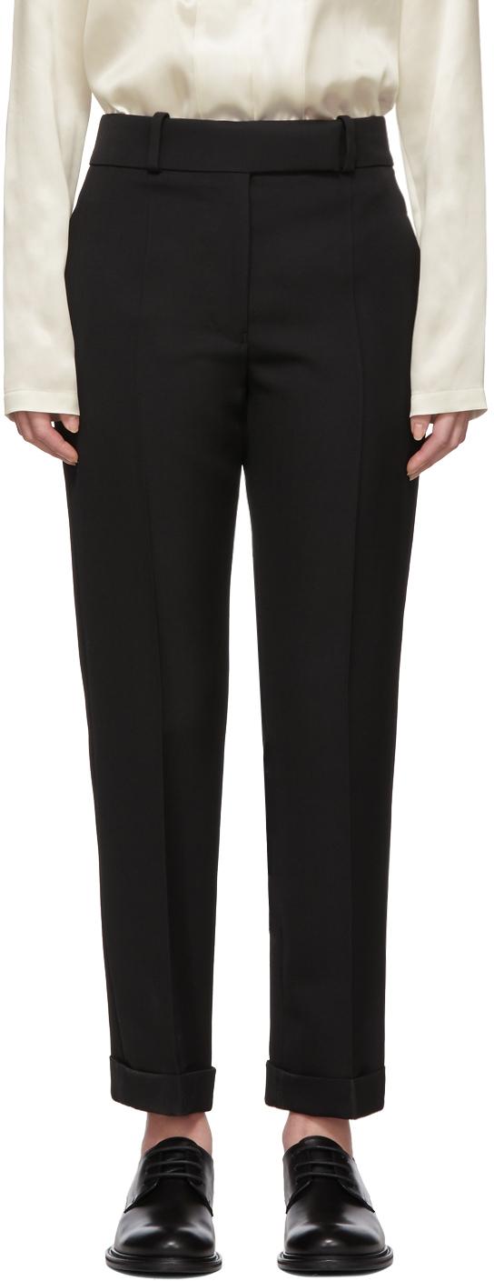 Haider Ackermann Wools Black Wool Classic Calder Trousers