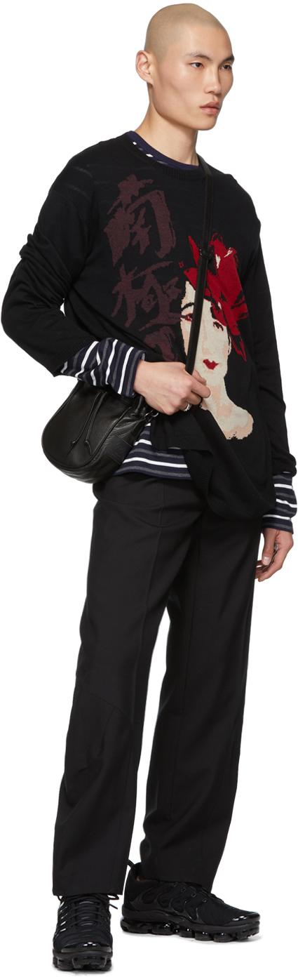 Yohji Yamamoto Sweaters Black Woman Sweater