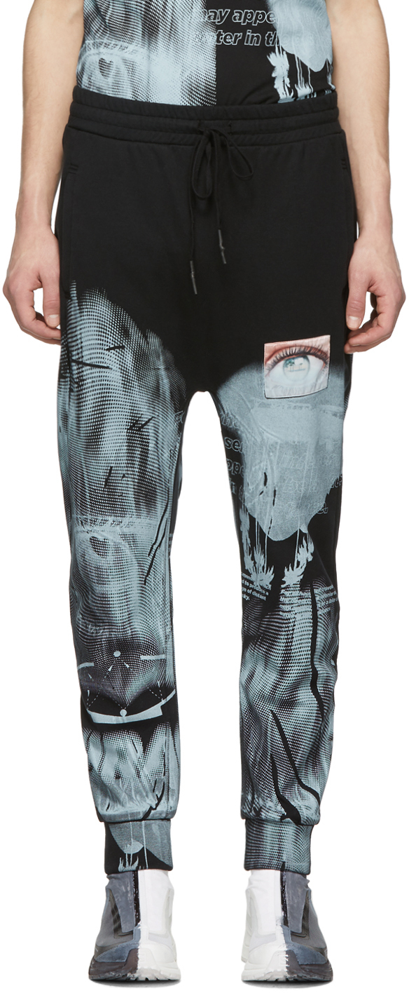 11 By Boris Bidjan Saberi Pants Black Mirage Lounge Pants