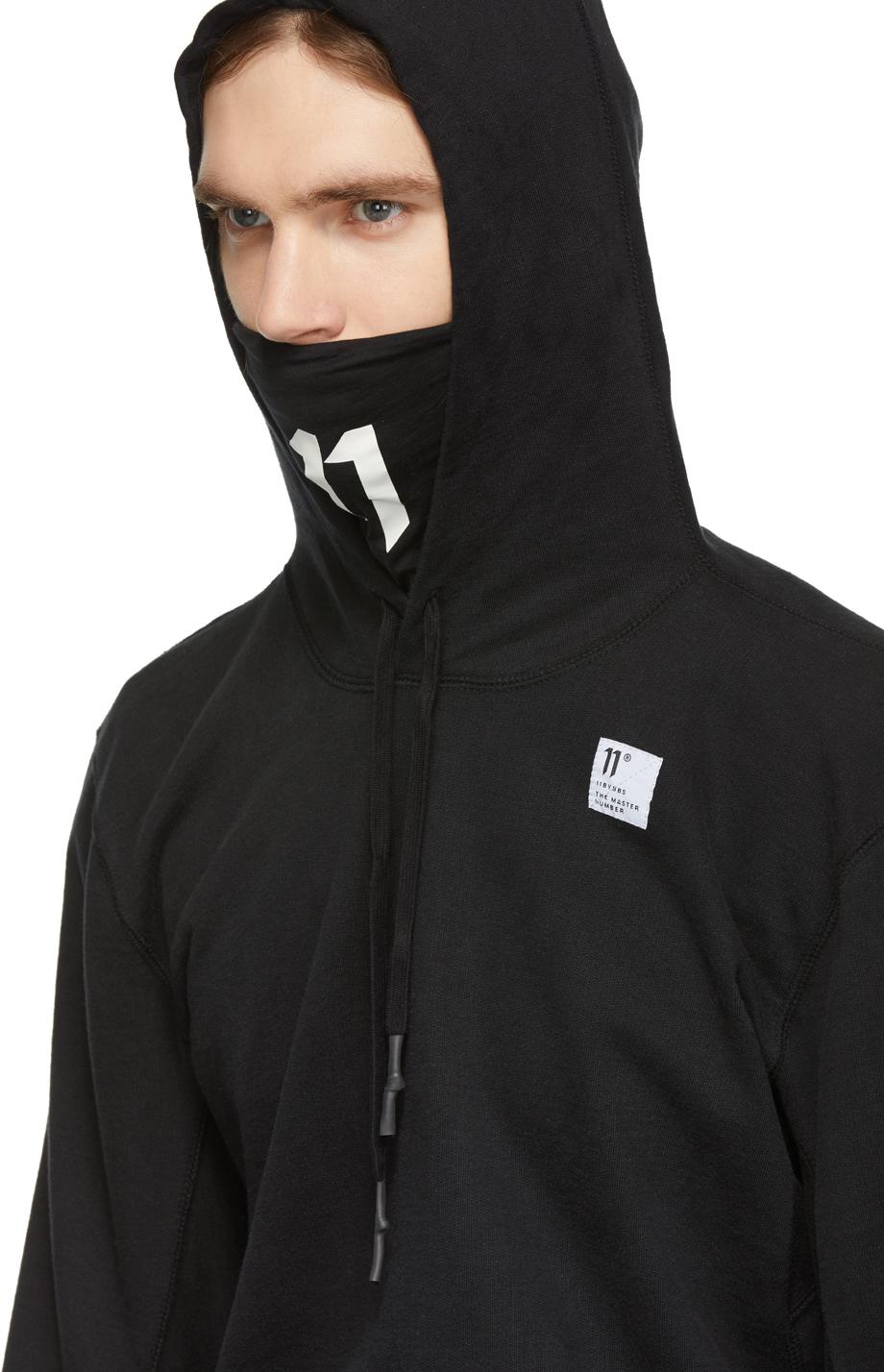 11 By Boris Bidjan Saberi Accessories Black Label Hoodie