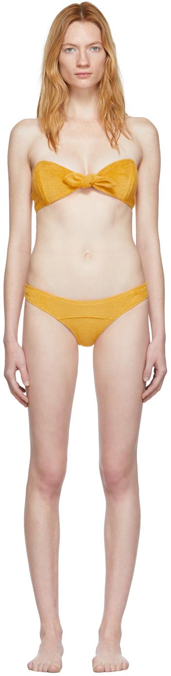 Lisa Marie Fernandez Accessories Yellow Poppy Bikini