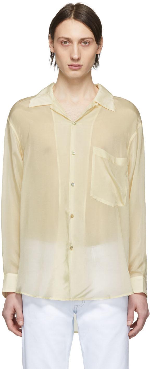 Eytys T-shirts Off-White Cupro Donovan Shirt