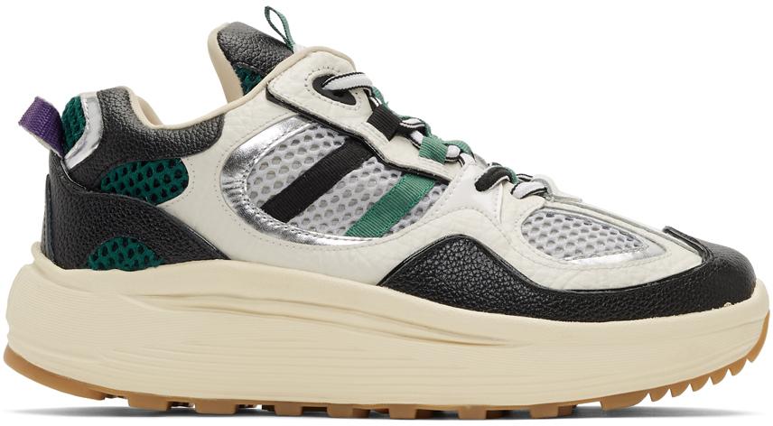 Eytys Sneakers White & Black Jet Turbo Sneakers