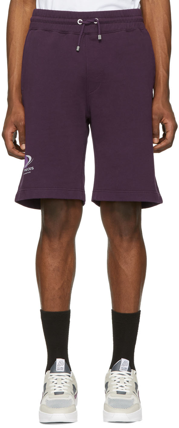 Filling Pieces Shorts Purple Planet Shorts