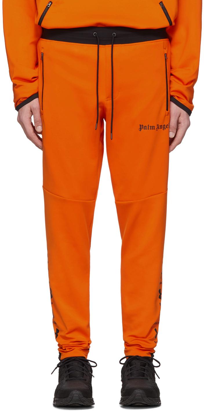 Palm Angels Pants Orange Under Armour Edition Jogging Lounge Pants
