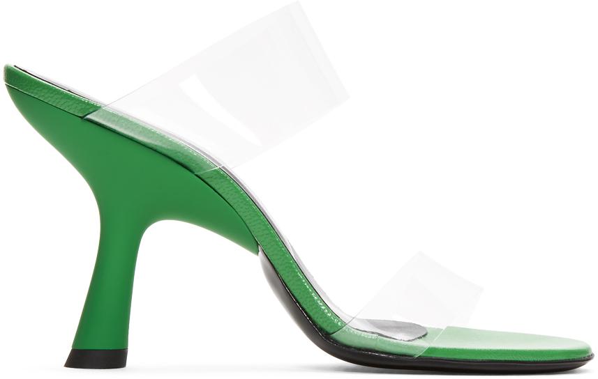 Simon Miller Shoes Green Tall Tee Sandals