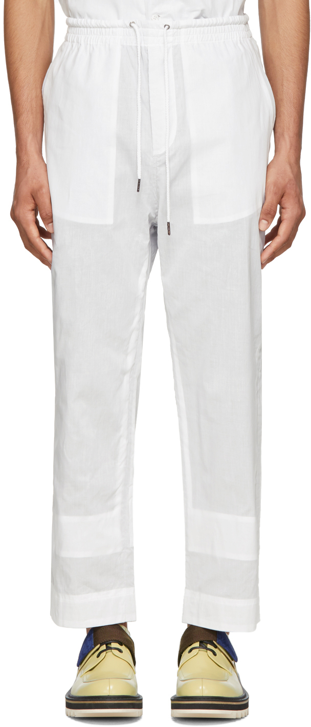 Craig Green Pants White Ghost Trousers