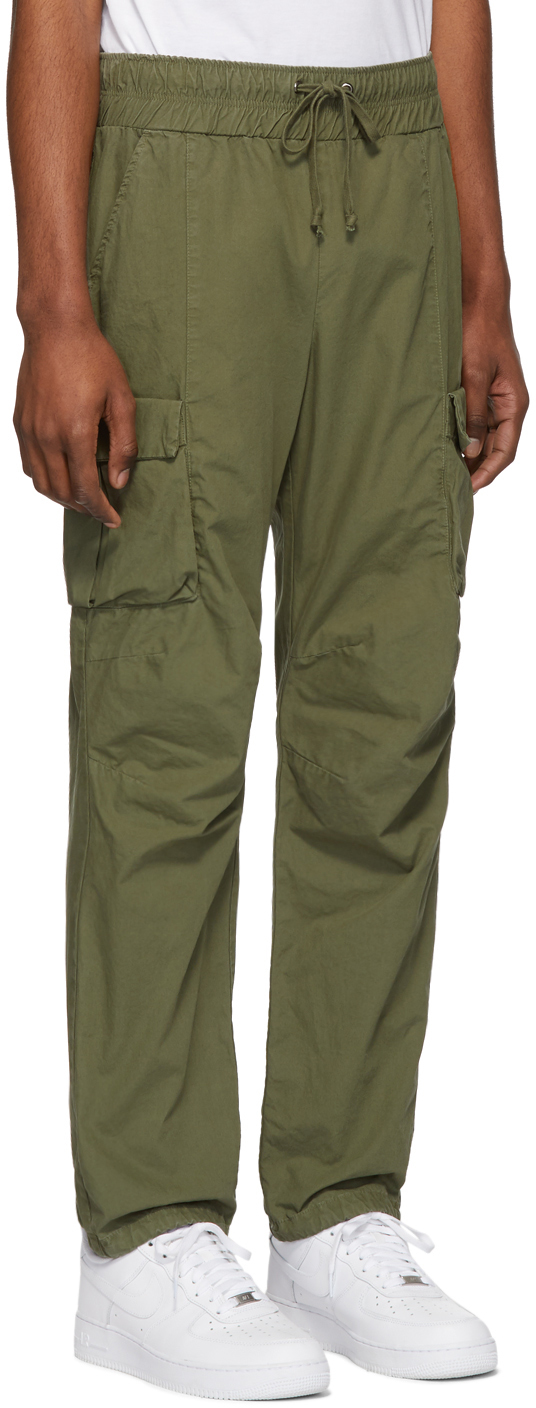 John Elliott Pants Green Military Cargo Pants