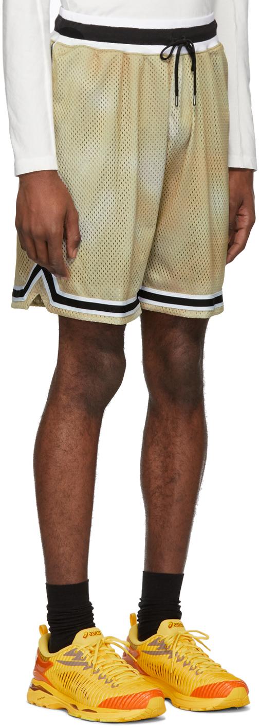 John Elliott Shorts Brown Mojave Tie-Dye Shorts