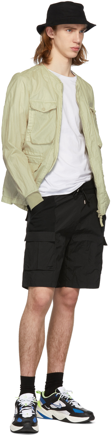 John Elliott Shorts Black Tactical Cargo Shorts