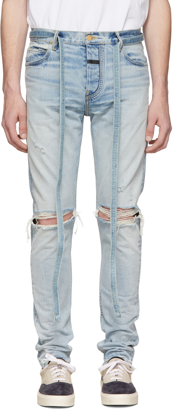Fear Of God Jeans Indigo Slim Jeans