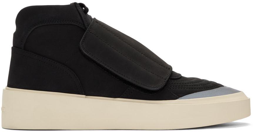Fear Of God Sneakers Black Skate Mid Sneakers