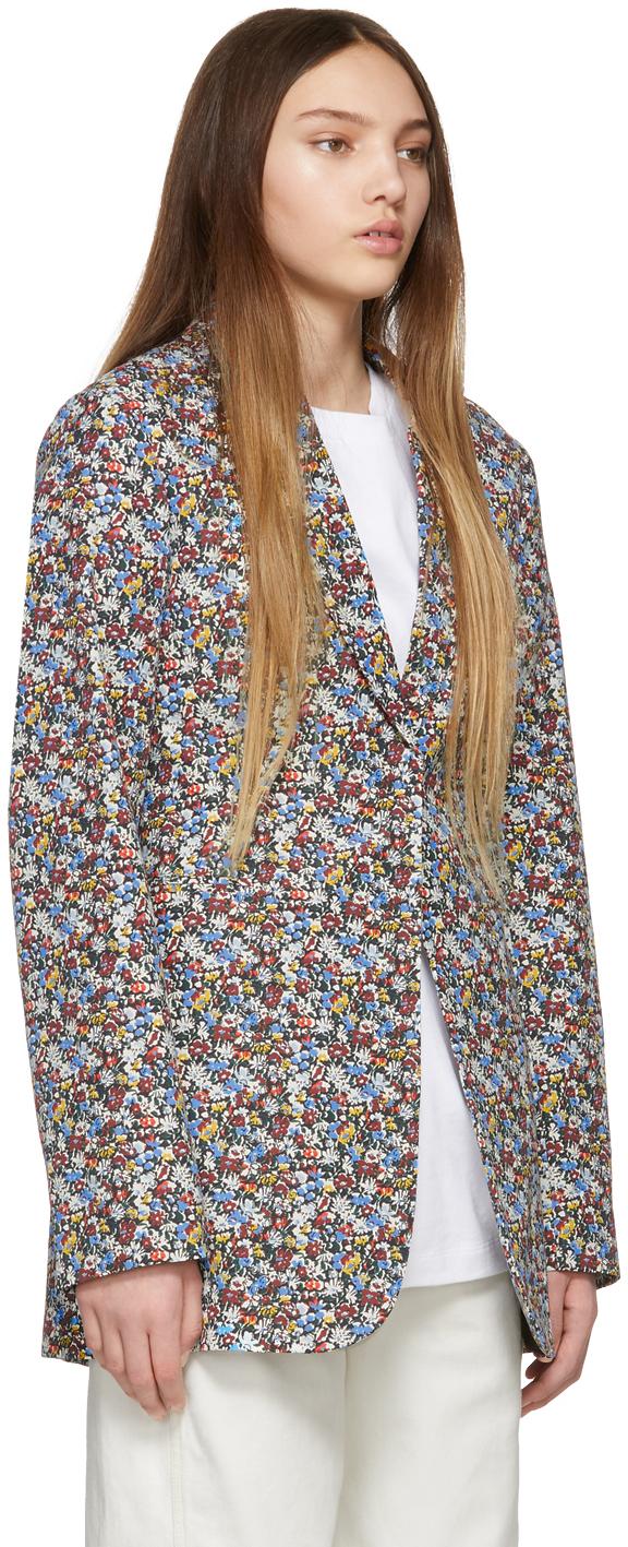 Victoria Beckham Blazers Multicolor Masculine Blazer
