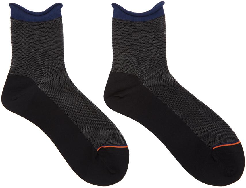 Issey Miyake Socks Black Curl Socks