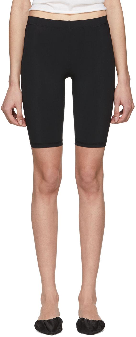Nanushka Shorts Black Biker Shorts