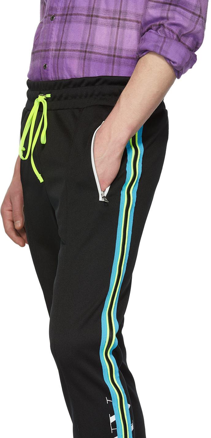 Amiri Pants Black Skinny Track Lounge Pants