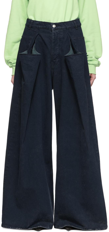 Martine Rose Jeans Black 3XL Jeans
