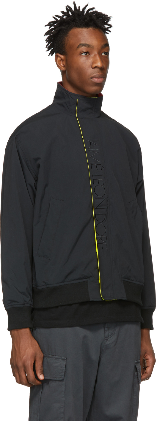 Aimé Leon Dore Jackets Black Sailing Jacket