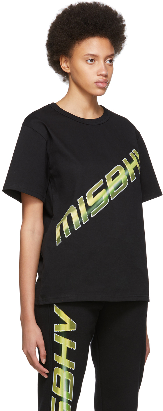 Misbhv T-shirts Black Space Logo T-Shirt