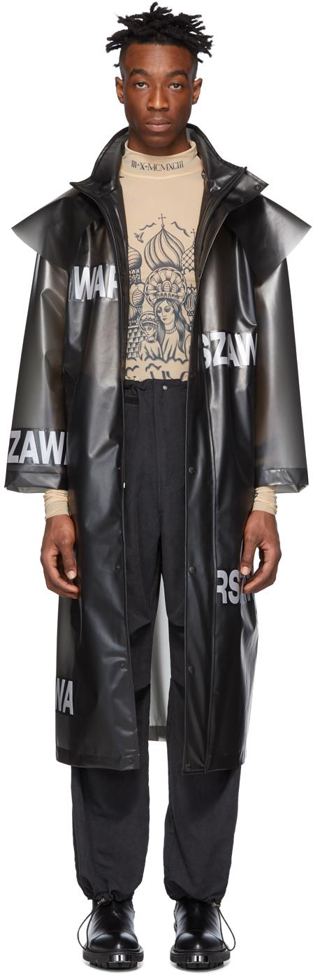 Misbhv Coats Black Warszawa Coat