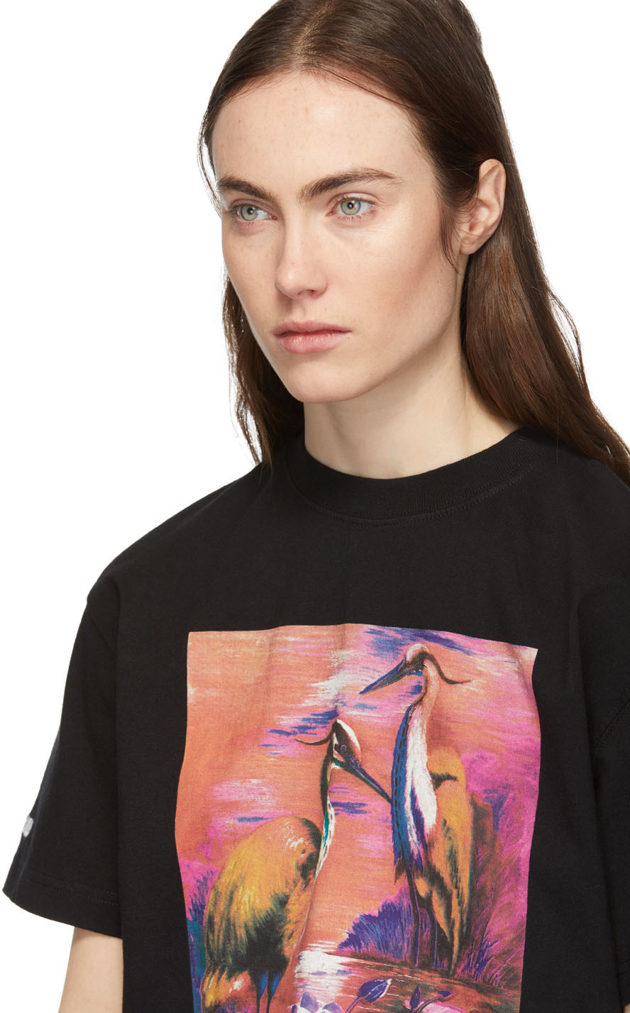 Heron Preston T-shirts Black Herons T-Shirt