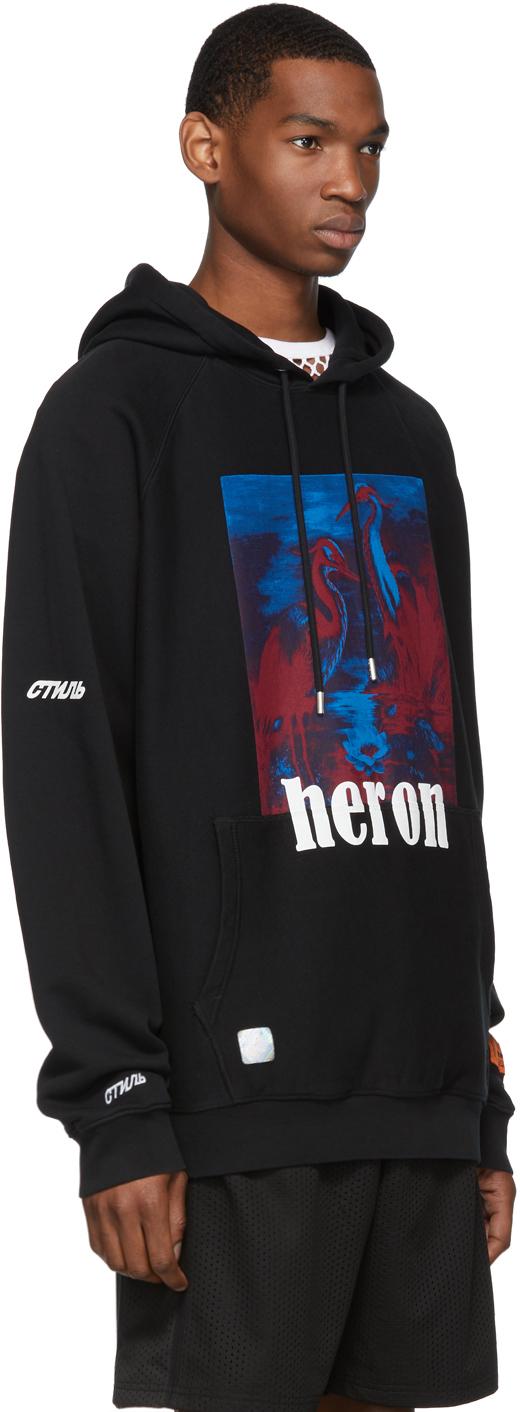 Heron Preston Accessories Black Heron Hoodie