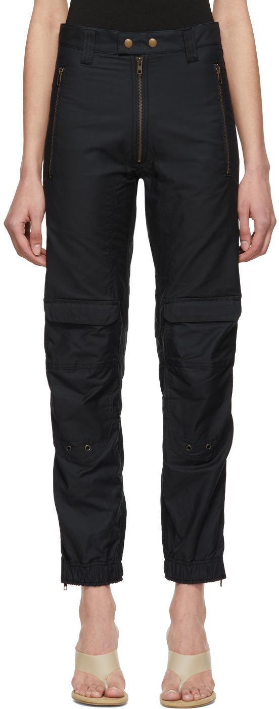 Gmbh Pants Navy Yolanda Biker Trousers