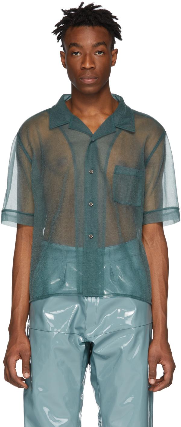 Gmbh T-shirts Green See-Through Luka Shirt