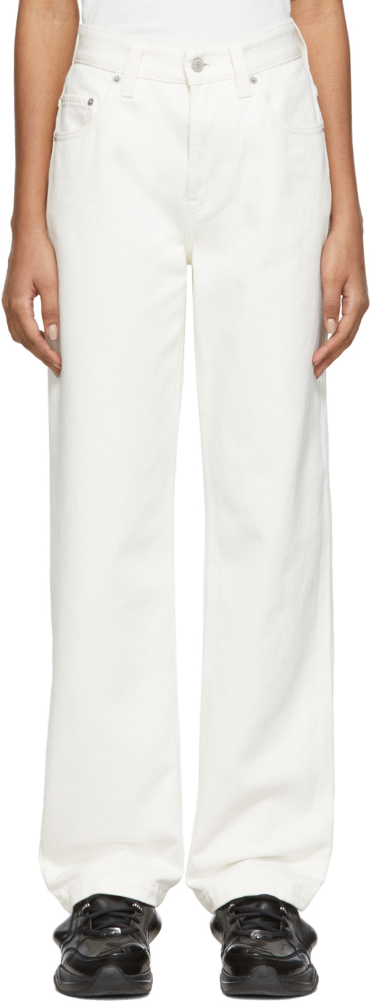 Napa By Martine Rose White Tanis Jeans