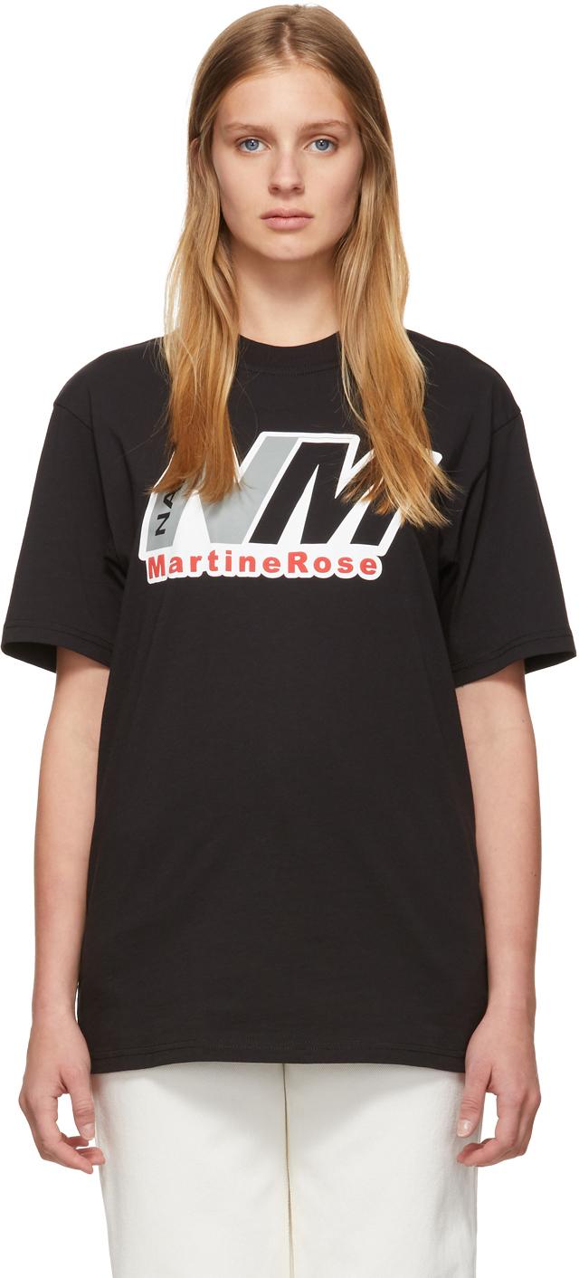 Napa By Martine Rose Black S-Cenis T-Shirt