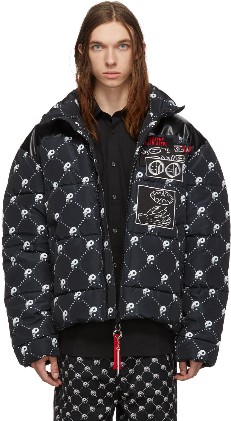 Diesel Jackets Black W-Piatig-Peace Jacket