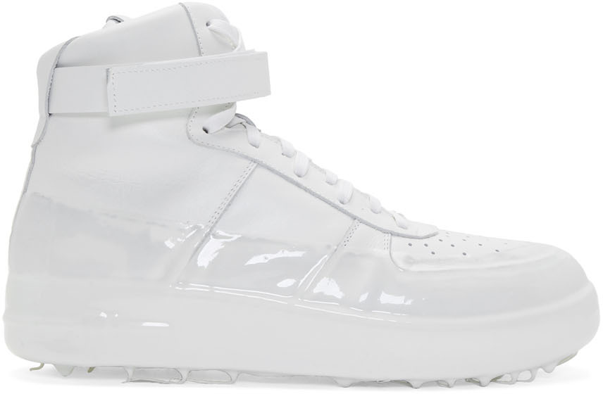 424 Sneakers Off-White Dipped High-Top Sneakers