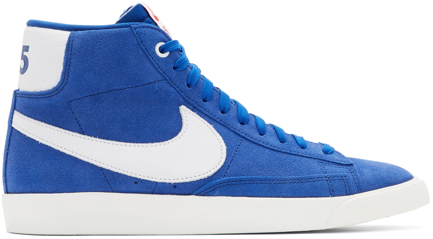 Nike Sneakers Blue Stranger Things Edition Mid QS Sneakers
