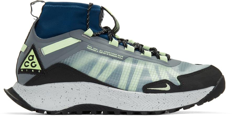 Nike Sneakers Grey & Yellow ACG Zoom Terra Zaherra Sneakers