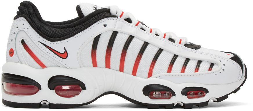 Nike Sneakers White & Black Air Max Tailwind IV Sneakers