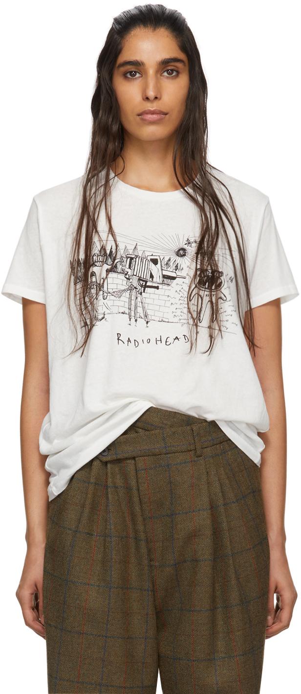 R13 T-shirts White DSPT Event Boy T-Shirt