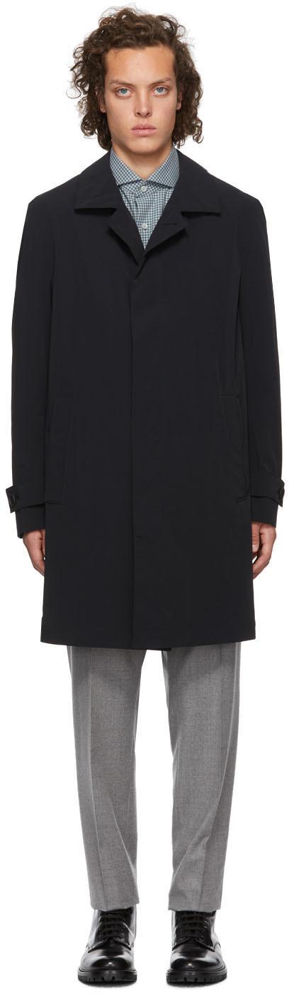 Boss Coats Black Derek Travel Coat