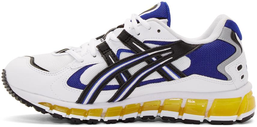 Asics Sneakers White & Black Gel-Kayano 5 360 Sneakers