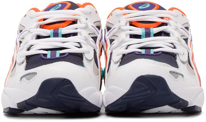 Asics Sneakers White & Navy Gel-Kayano 5 OG Sneakers