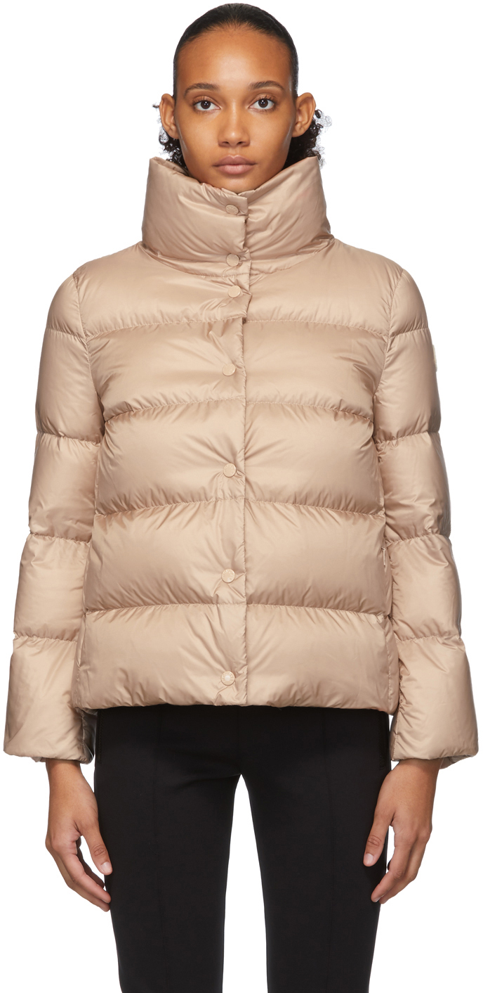 Moncler Jackets Pink Down Aude Jacket