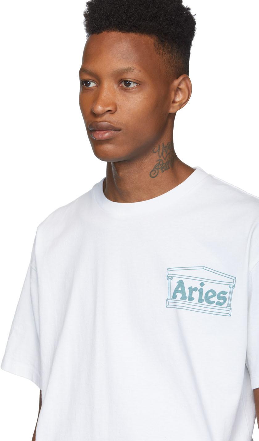 Aries T-shirts White Jimbo T-Shirt