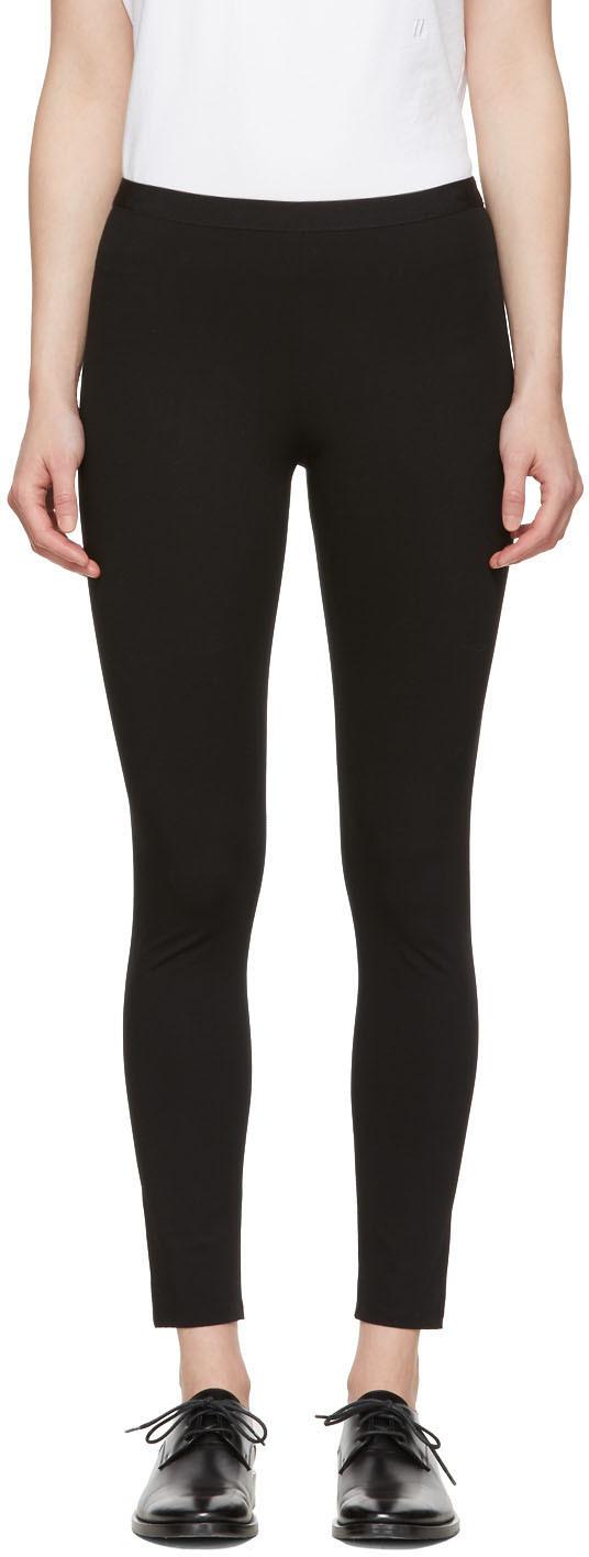 Helmut Lang Pants Black Reflex Leggings