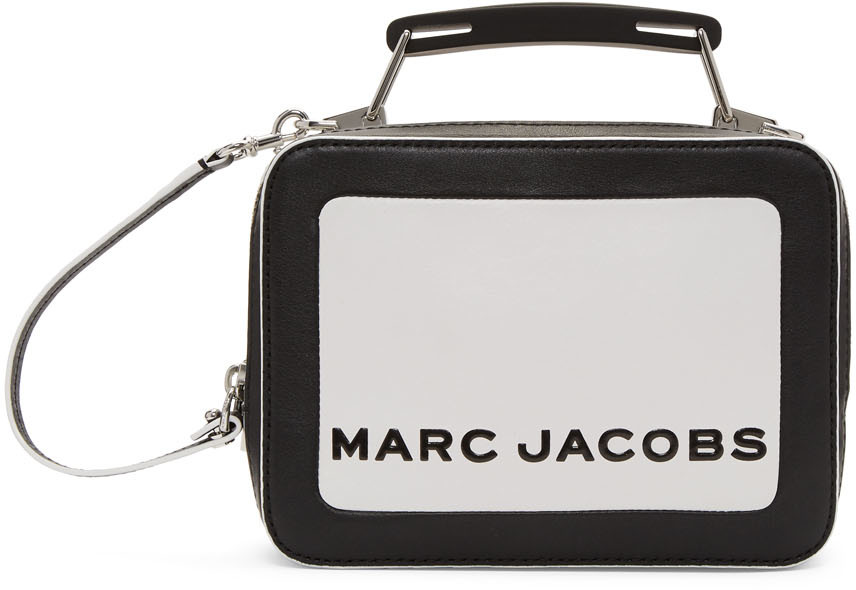 Marc Jacobs Accessories Black & White 'The Box' Bag