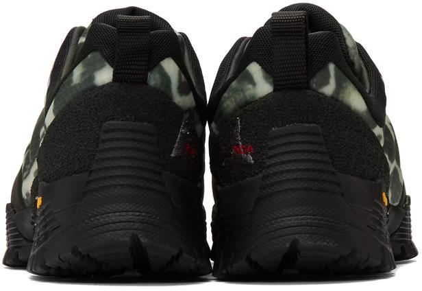 Roa Sneakers Black & Grey Oblique Sneakers