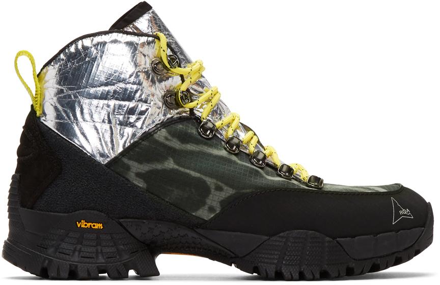 Roa Boots Silver & Multicolor Andreas Boots