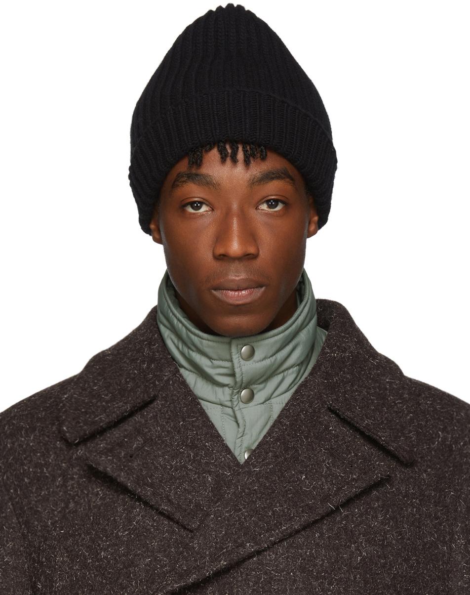 Jil Sander Accessories Black Wool Beanie