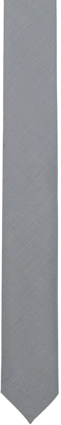 Jil Sander Ties Grey Plain Tie