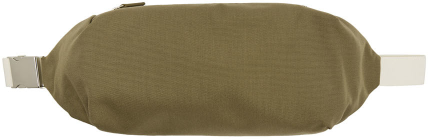 Jil Sander Belt Khaki Simple Climb Belt Bag